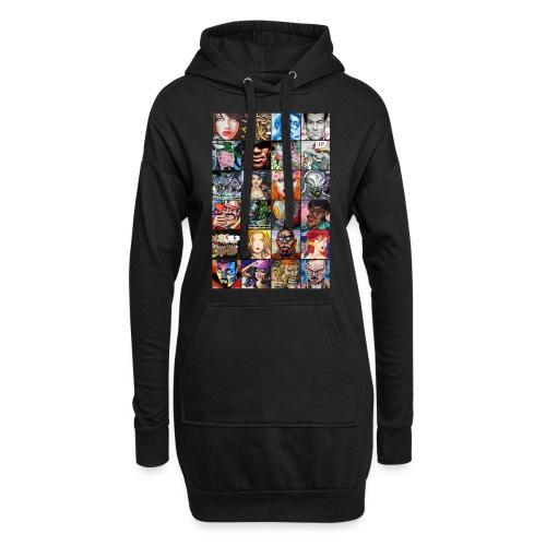 Graffiti Characters Design - Sweat-shirt à capuche long Femme