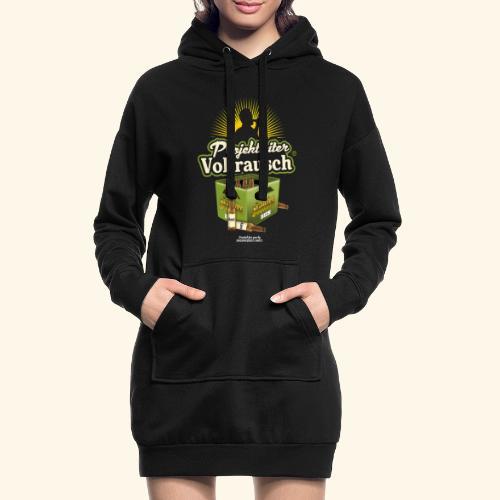 Bier Saufen T Shirt Projektleiter Vollrausch® - Hoodie-Kleid