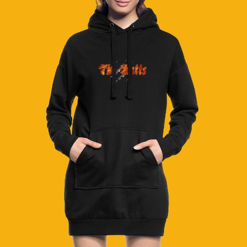 The Katts (logo 21x11) - Sweat-shirt à capuche long Femme
