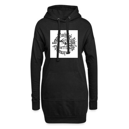 HTS Logo weiss - Hoodie-Kleid