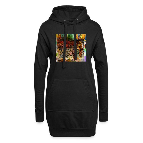 urban tribute - Sweat-shirt à capuche long Femme