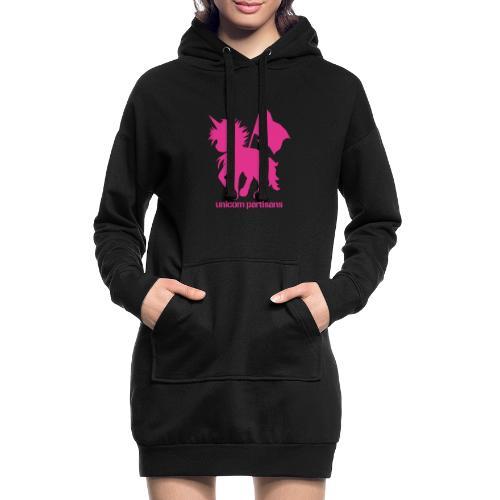 unicorn partisans - Hoodie Dress