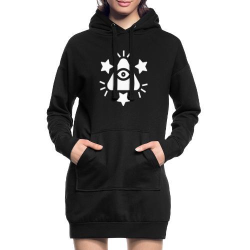 Illuminat ux - Sweat-shirt à capuche long Femme
