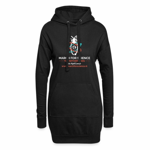 MfS-NL logo dark background - Hoodie Dress