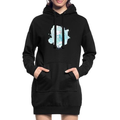Meermädchen Ahoi - Hoodie-Kleid