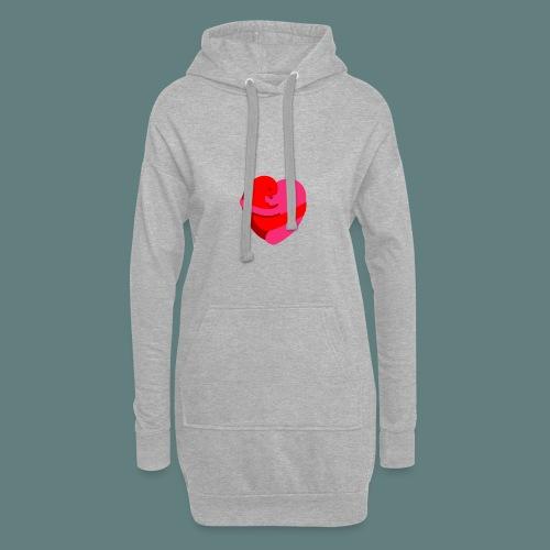 hearts hug - Vestitino con cappuccio