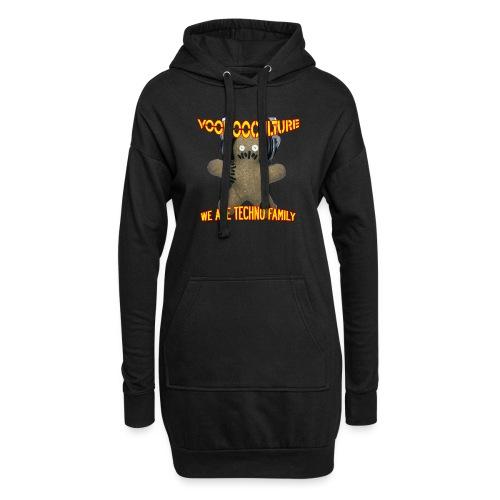 Voodooculture Shirt - Hoodie-Kleid