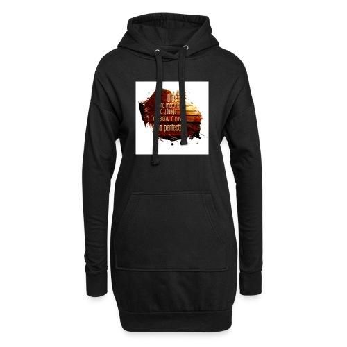 Dios no Improvisa - Sudadera vestido con capucha