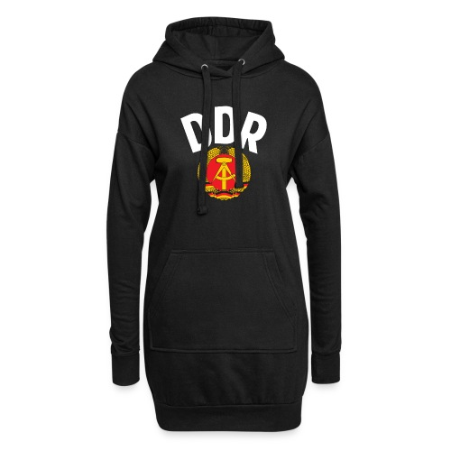 DDR - German Democratic Republic - Est Germany - Hoodie-Kleid