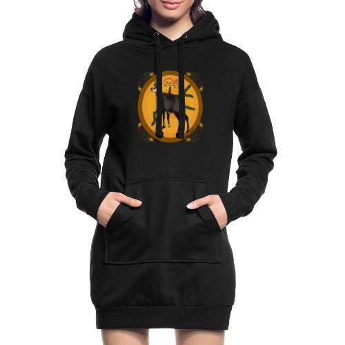 Le chamois - Sweat-shirt à capuche long Femme