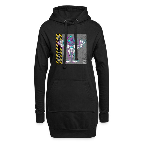 The L.O.S.T Robot! (Logical Organizer System Tota - Hoodie-kjole