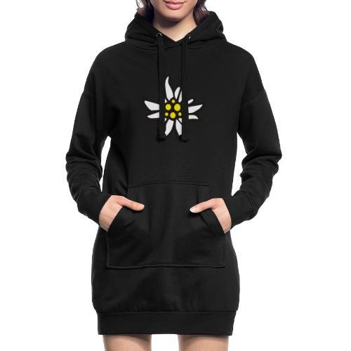 Edelweiss - Hoodie-Kleid