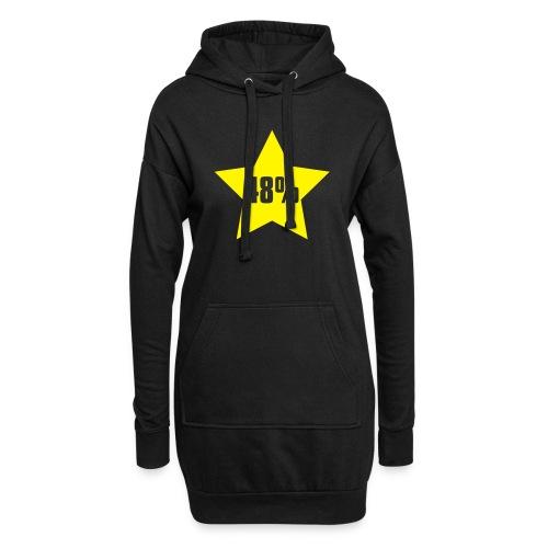 48% in Star - Hoodie Dress