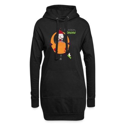 AUTOSIMONE - Sweat-shirt à capuche long Femme
