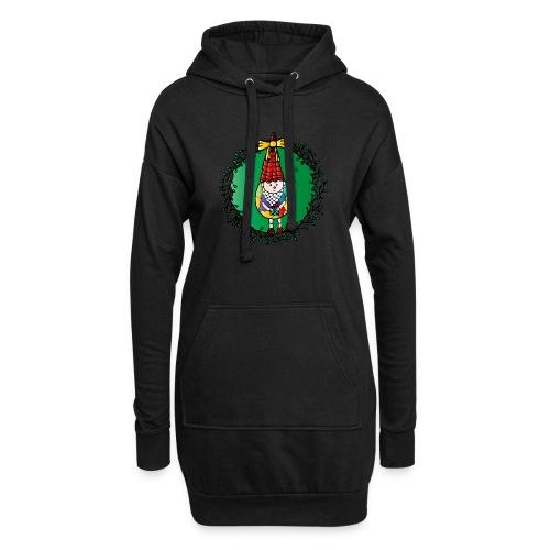 Weihnachtswichtel - Hoodie-Kleid