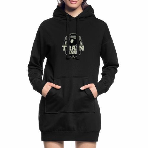 Train Hard - Hoodie-Kleid