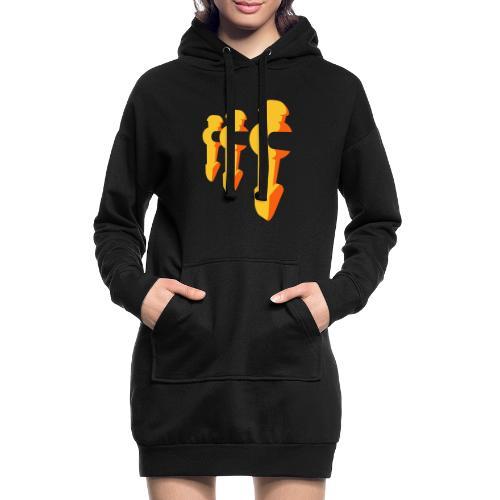 Kickerfiguren - Kickershirt - Hoodie-Kleid