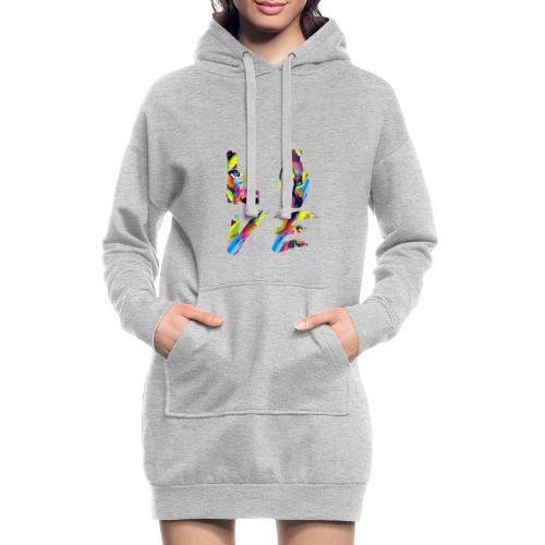 LOVE LION RICHE - Sweat-shirt à capuche long Femme
