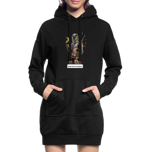 Never Feed After Midnight - Hoodie Dress
