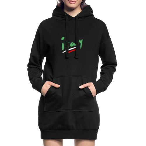 italy - Sudadera vestido con capucha
