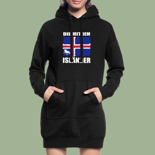 Die mit dem Isländer - Hoodie-Kleid