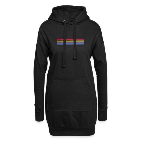 Colored lines - Hoodie Dress
