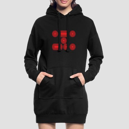 CODE RED - Hoodie Dress