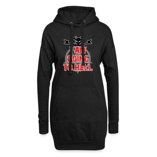 Going to hell - Slim fit - Hoodie Dress