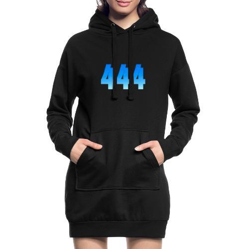 444 annonce que des Anges vous entourent. - Sweat-shirt à capuche long Femme