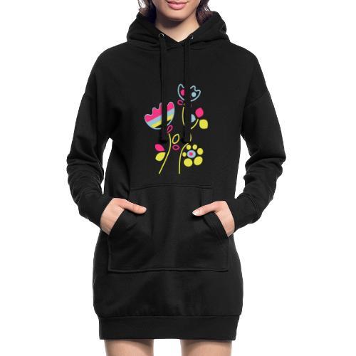 tulipani - Vestitino con cappuccio