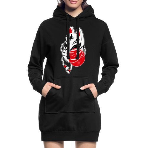 Kitsune - Vestitino con cappuccio