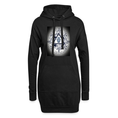 Artsy design with spiritual/meaningful add ons. - Hoodie Dress