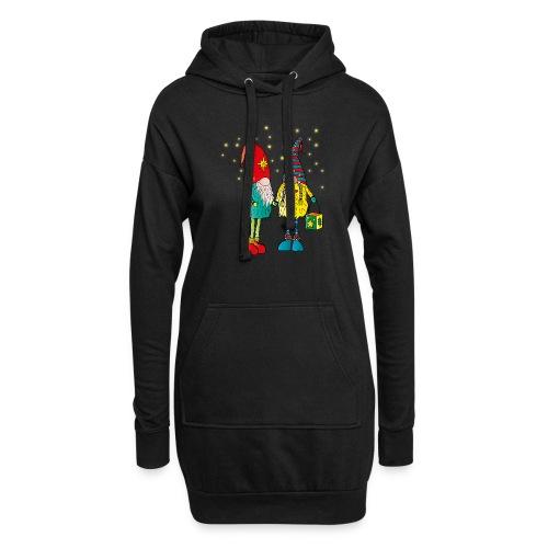 Weihnachtswichteln - Hoodie-Kleid