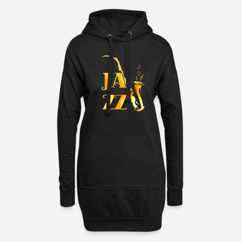 Jazz Tribal Saxophon - Hoodie-Kleid