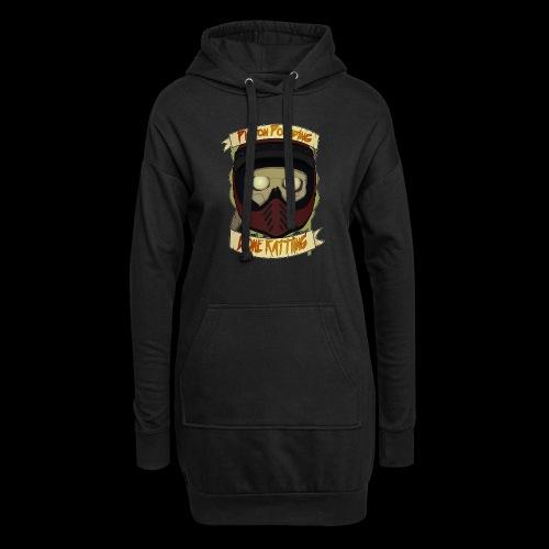 Bone Rattling-2 - Hoodie Dress