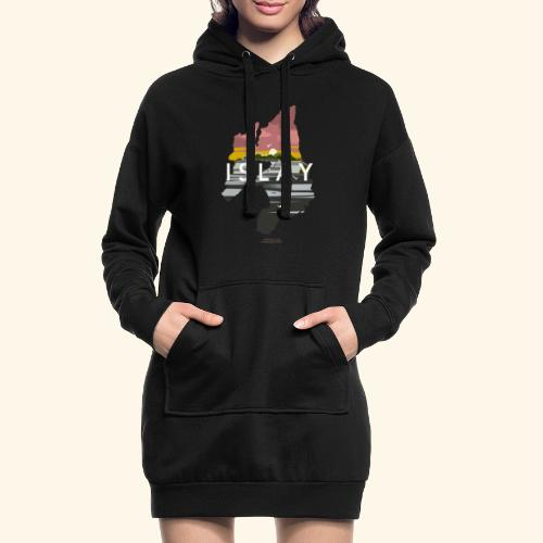 Islay Dusk Whisky T-Shirt Design - Hoodie-Kleid