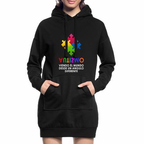 El Autismo según Yo soy Asperger - Sudadera vestido con capucha