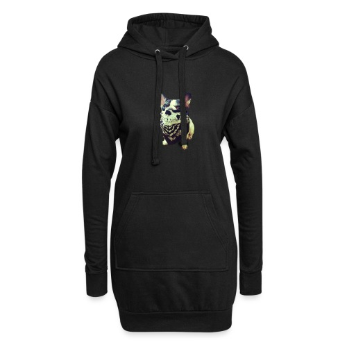 Bandana Dog - Hoodie Dress