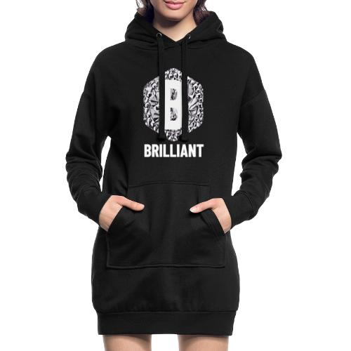 B brilliant white - Hoodiejurk