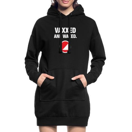 VAXXED - Sudadera vestido con capucha