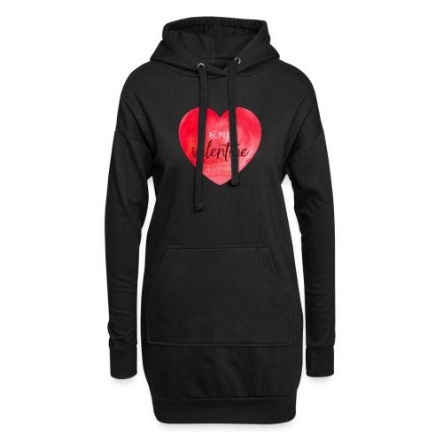 Cœur st.valentin - Sweat-shirt à capuche long Femme