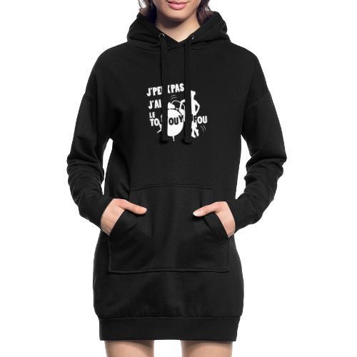 JPEUXPAS BLANC - Sweat-shirt à capuche long Femme