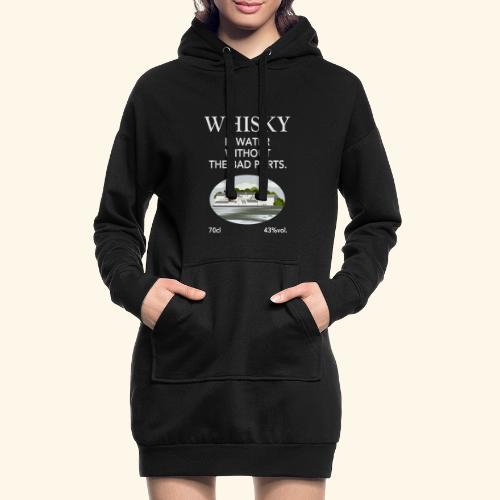 Whisky Is Water lustiger Spruch und Brennerei - Hoodie-Kleid