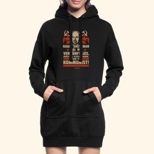 Sprüche T-Shirt Lenin Kommunist - Hoodie-Kleid