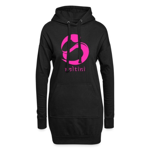 SoltiSquad Pink Logo For Soltini (Female) - Hoodie Dress