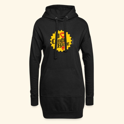 Craft Beer T-Shirt Design I Love Craft Beer - Hoodie-Kleid