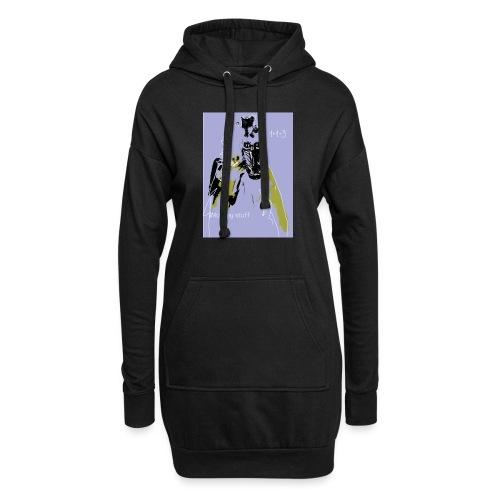 monkey stuff - Hoodie-Kleid