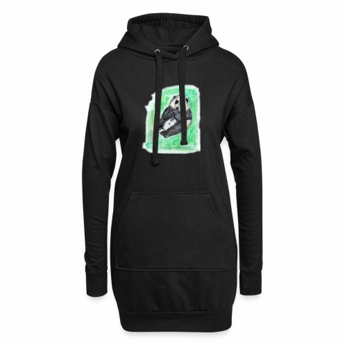 Scruffy panda - Hoodie Dress