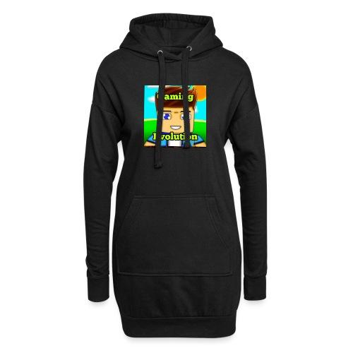 me while gaming - Hoodie Dress