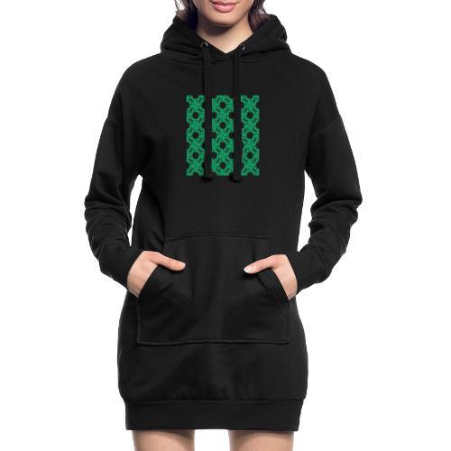 Saint Patrick - Sweat-shirt à capuche long Femme